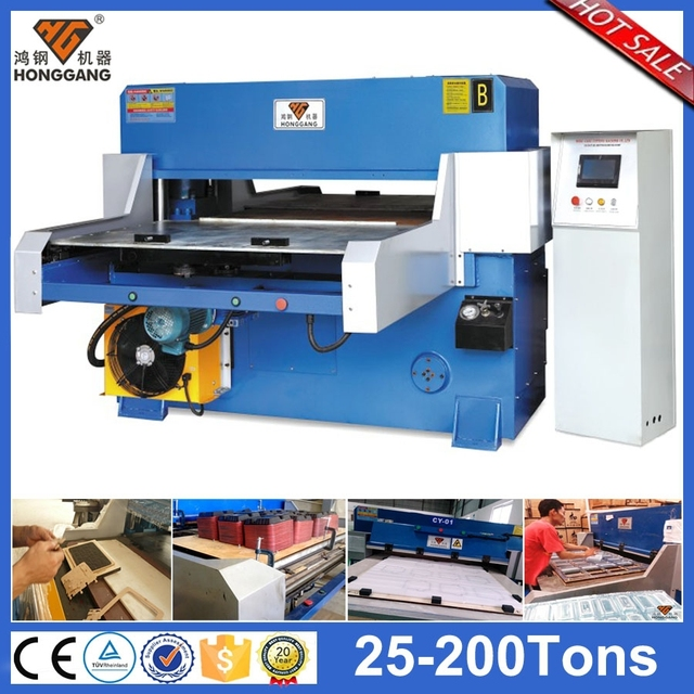 High Efficiecy hydraulic die biodegradable plastic bags cutting machine
