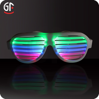 Novelty Products Party Favor Sunglasses Glow In The Dark Sunglasses Sound Activated