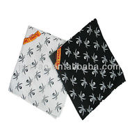 promotional printed cotton square bandana bandana baby