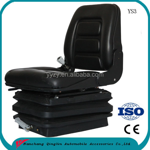 Comfortable Construction vehicle parts seat suspension road roller driver seat