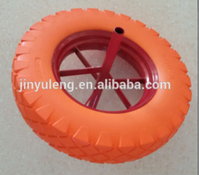 4.00-8 PU foam wheel for JEDDAH , RIYADH,DUBAI ,DAMMAM ,SHARJAH market