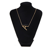 Fashion Alphabet Jewelry Chain Necklace Accessories