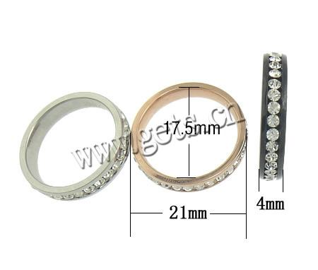 Stainless Steel 4x21mm, 17.5x17.5mm size 7 ring stainless steel