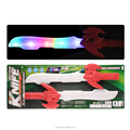 DJ2602052 Hot sale low price top quality flash music sword deform knife with colourful light