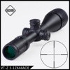 Discovery optical tactical hunting rifle scope VT-Z 3-12X44AOE adjustable objective electrical illumination Red and Green illumi