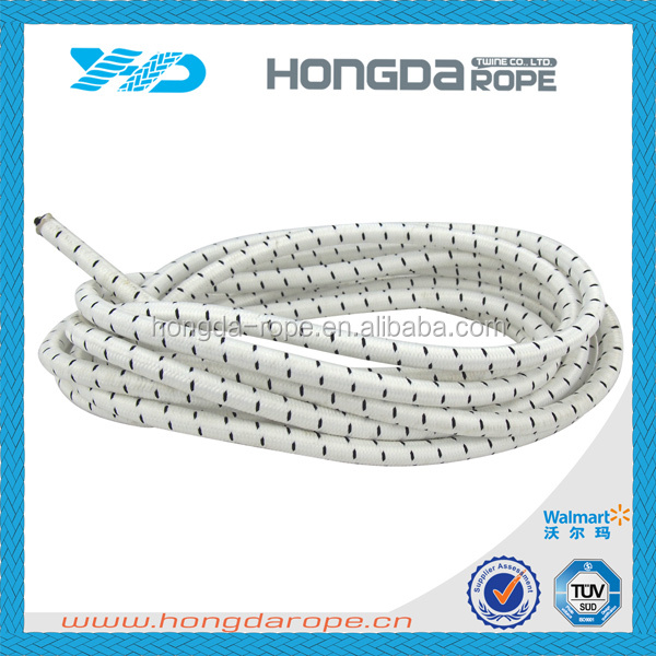 2016 hot selling braided 20mm bungee jumping rope