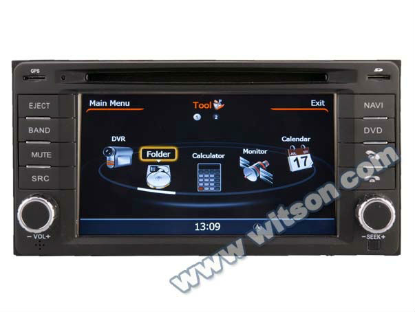 WITSON IMPREZA touch screen car stereo with IPOD Ready Optional