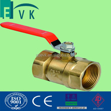 Lever Handle Full Port 2pc Brass Ball Valve