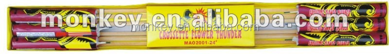 1.4G UN0336 thunder rocket fireworks for sale fire works consumer rockets