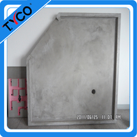 xps base fiberglass cement thermal insulation smc shower tray