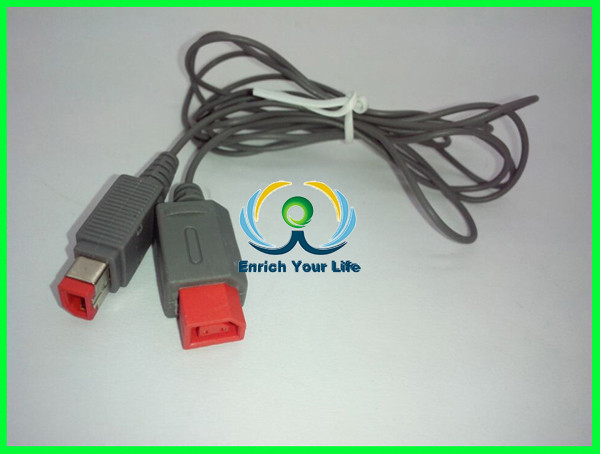 wholesale video game repair part for wii sensor bar extension cable
