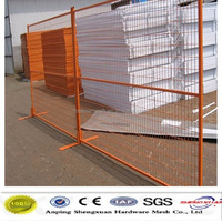 ISO9001:2008 Iron fence sales for Canada Temporary Welded wire mesh fence