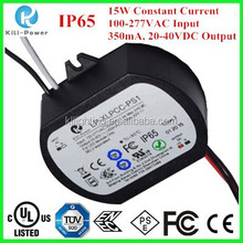 15w 350mA Constant Current Built-in active PFC constant current driver