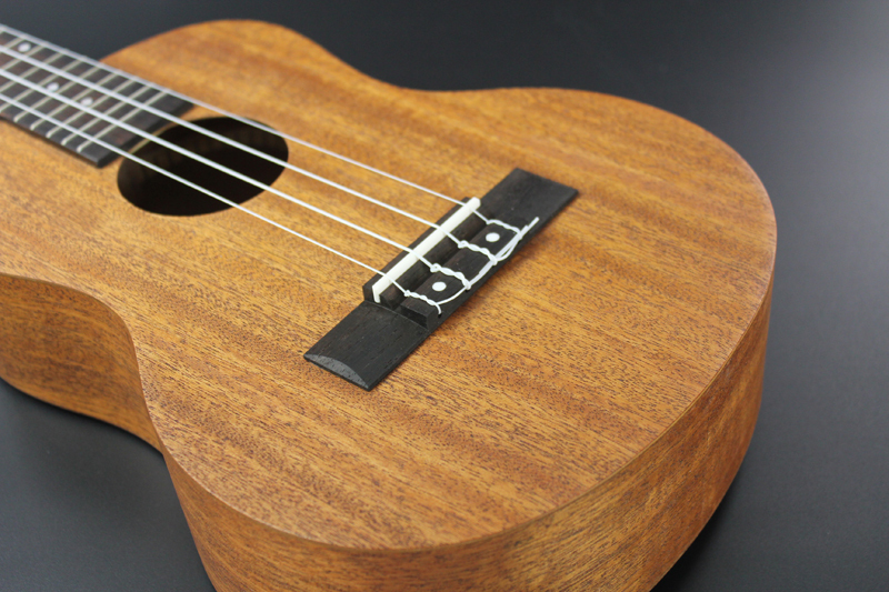 12 frets Mahogany Soprano Ukulele Guitar Uke Sapele Rosewood 4 Strings Hawaiian Guitar for beginners
