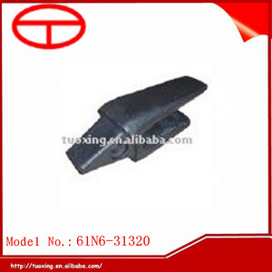 Casting excavator bucket parts manufacture 61N6-31320 Hyundai adapter