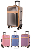 2015 Fashion PU Luggage Bag Trolley
