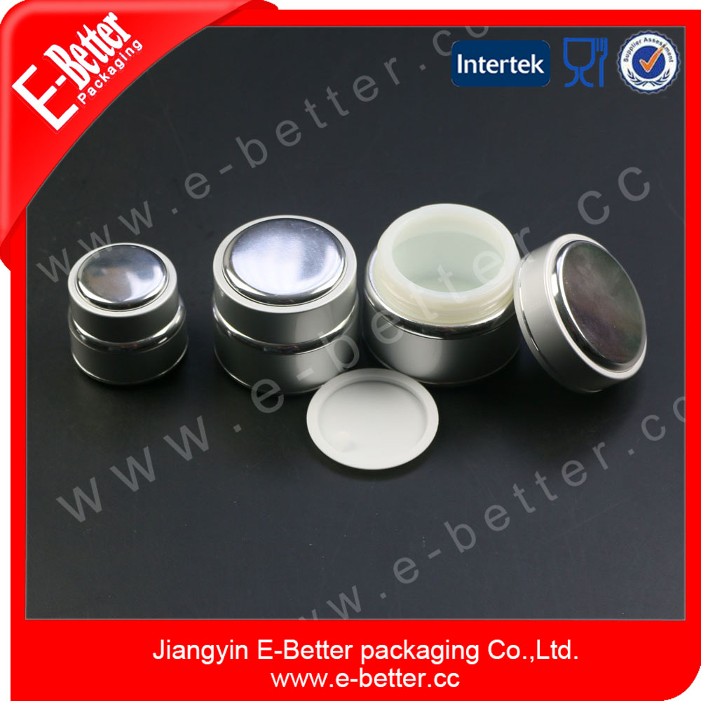 Aluminum Nail Gel face cosmetic Jar
