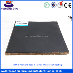 Municipal Constructions Two Component Cementitious Waterproofing Coating