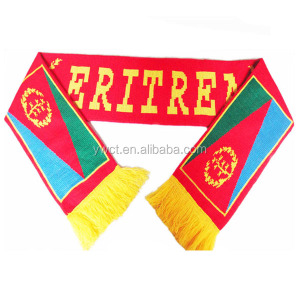 Eritrea Scarf Knit National Flag Scarf