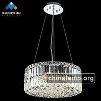 Modern pendant fake chandeliers crystal lamp