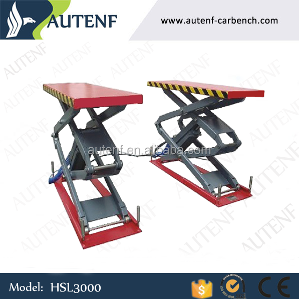Yantai Autenf CE 3T hydraulic mini scissor lift/diy car lift