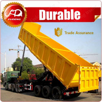 High quality dump truck trailer 40 ton sand tipper truck trailer for sale