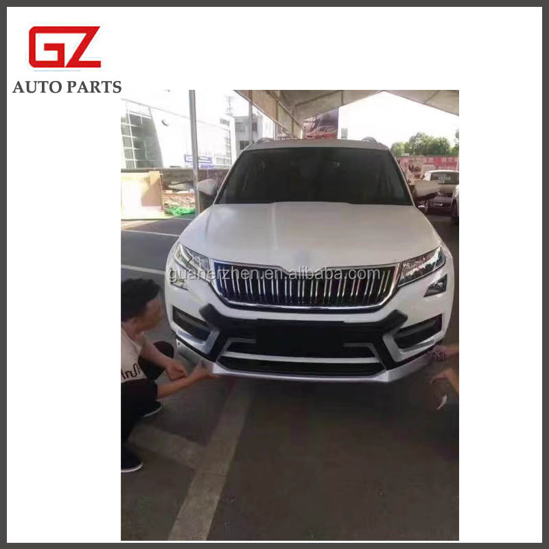Front rear bumper guard for 2017 SKODA KODIAQ