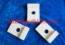 92% industrial ceramic lining parts of fan blade for thermal power or steel plant
