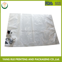 Wholesale Low Price Edible Oil Plastic Bags/20L Oil Bags With Valve