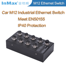Professional Car Industrial fiber optic ethernet switch