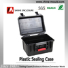 Hard ABS plastic tool case with foam