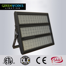 High power Outdoor IP65 high lumen 1000w led floodlight 130lm/w with ETL DLC SAA Listed