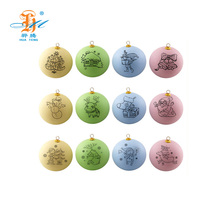 Christmas tree decoration painted colorful christmas ornament ball for gift set