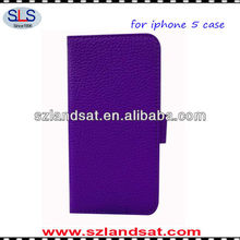 wholesale price Purse case for iphone5 with card slot PIC03