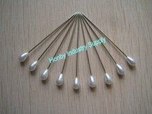 Party suplies high quality 55mm plastics head teardrop head pins