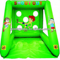 inflatable golf cage kids sports toy