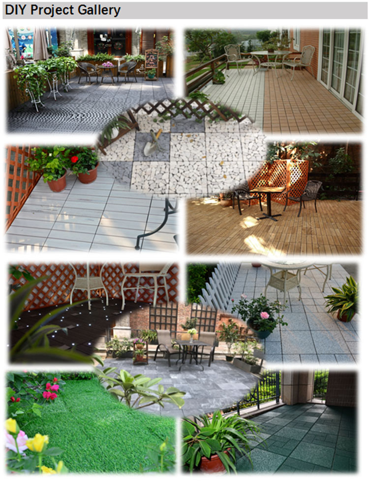Foshan supplier Eco-friendly decking floor building materials ceramic tile