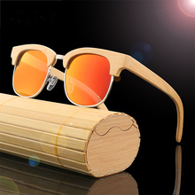 promotional goods-high quality cheap sunglasses <strong>bamboo</strong> polarized and <strong>bamboo</strong> sunglasses with case custom logo
