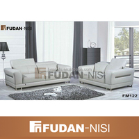 latest white leather design sofa set corner sofa