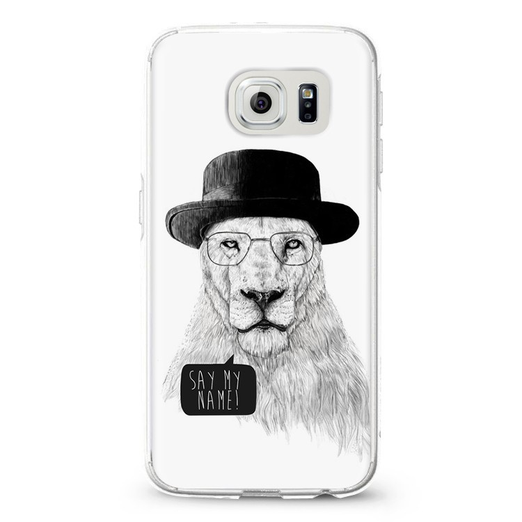 BUStyle panda lion trigger pattern case for Samsung galaxy S6 edge back cover