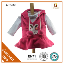 white bunny doll clothing 18 inch cartoon doll clothing