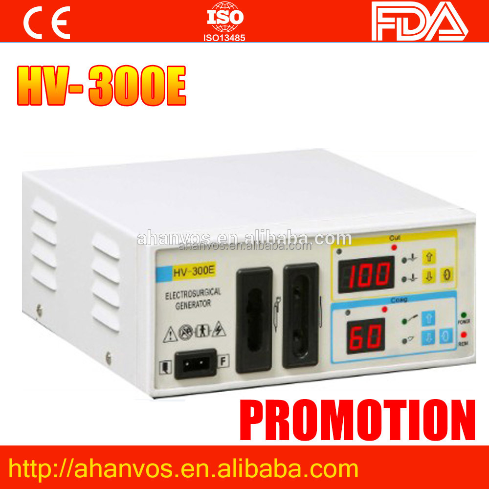 Medical Device H.F. Electrosurgical Unit Diathermy Machine Cautery Unit for Hospital