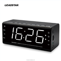 factory directly sell Desktop Led Display bluetooth Radio Alarm Clock