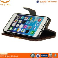 factory wallet leather cell phone accessories for iphone 6