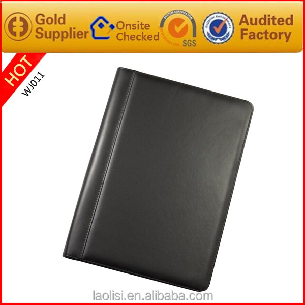 Alibaba Laolisi personalized pu leather business portfolio