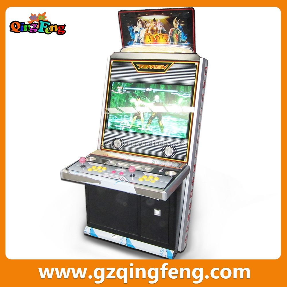 Qingfeng newest design arcade video machine coin operated video game wholesale dropship