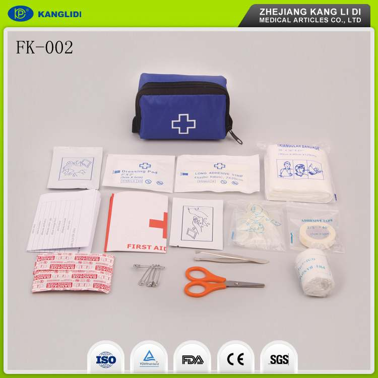 KLIDI OEM Order Available Emergency Medical First Aid Kit Survival