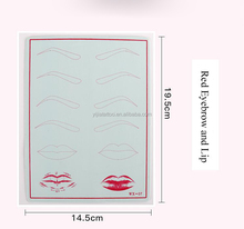 Artificial Silicone Tattoo Practice Skin/Tattoo Practice Skin For Permanent Makeup