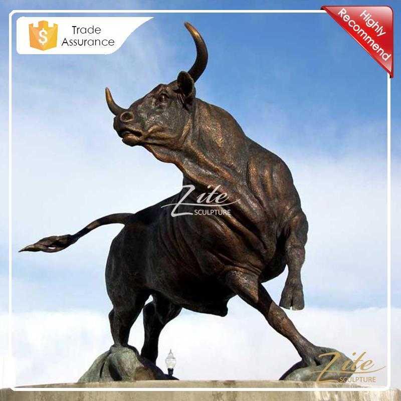 Popular Designs large bronze bull sculpture