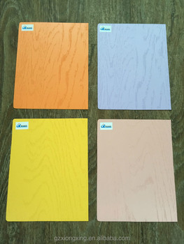 New Emboss for pvc decorative solid color